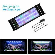 "12-20"" LED Aquarium Light Full Spectrum Fish Tank Plant Marine Flower Decor Lamp"