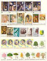 1979 San Marino Annata Completa Nuovi Come Unificato 33 Valori Integri