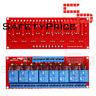 Modulo rele 8 canales 12V alto / bajo nivel con optoacoplador automatizacion PLC