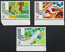 LIECHTENSTEIN - timbre/stamp Yvert et Tellier n°880 à 882 n** (cyn5)