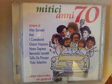 COMPILATION - MITICI ANNI 70 (SORRENTI, MAL, VALENTINO...). CD