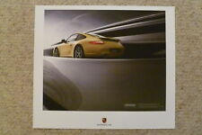 2009 Porsche Carrera Coupe Showroom Advertising Sales Poster RARE!! Awesome L@@K