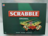 New Scrabble Original Board Game English French Spanish Version