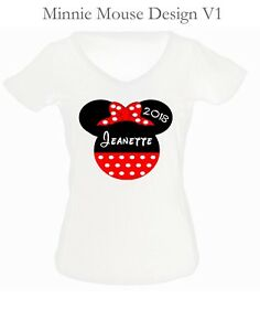 Mickey Mouse Iron Ons, Minnie Mouse Iron Ons, Disney Vacation Iron Ons