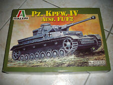ITALERI PZ.KPFW.IV AUSF.F1/F2   PLASTIC MODEL 1/35
