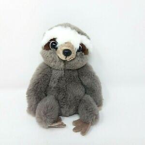 "Fiesta Nick Sloth Plush 7"" Gray Stuffed Animal Soft Toy"