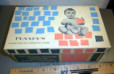 Vintage Pennys baby Shoe Box Only (box is empty), great graphics & colors on box
