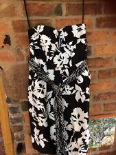 COAST Pure Silk Satin Dress Size 14 Immaculate
