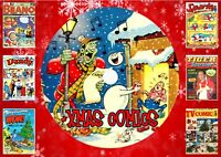 UK Christmas Comics On PC DVD Rom (CBR FORMAT)
