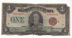 CANADA 1923 $1