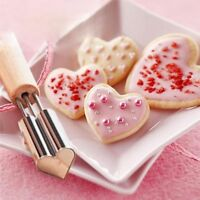 Cookie Mould Fruit Cutter Heart Star Shape Vegetable Stainless Steel Molds