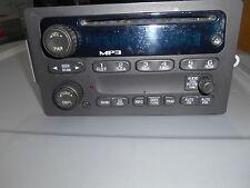 GM Radio AM/FM/ CD & MP3 Chevy Colorado 2605-2011 GMC Canyon 28008720