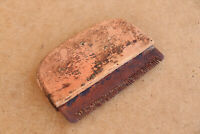 Old Antique Primitive Wooden Wood Handforged Horse Currycomb Crest Early 20th