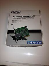 HighPoint - RocketRAID 644LS ~ 4-channel SATA 6 Gb/s RAID ->Excellent condition