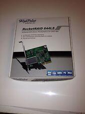 HighPoint - RocketRAID 644LS ~ 4-channel SATA 6 Gb/s RAID - Excellent condition