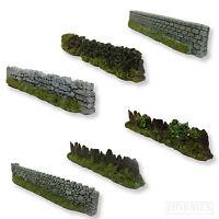 Javis Model Walling Dry Stone Garden Wall 00 Gauge Railway Scenery Wargame