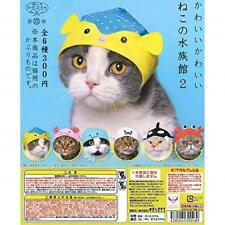 Kitan Club Tenero Gatto Of The Acquario 2 Gashapon Set di 6 Mini Costume Capsula