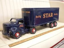1950s MINNITOY (Otaco) TORONTO STAR Transport Truck Steel Toy ORIGINAL
