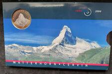 CHF Franken Schweiz  KMS 2004 stgl. Matterhorn in OVP