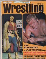 Inside Wrestling Blackjack Mulligan Mil Mascaras February 1972 062219nonr