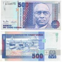 CAPE VERDE / CABO VERDE 500 ESCUDOS 1989 P-59 UNC - Banknotes Paper Money