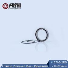 6705-2RS(25x32x4 mm) Hybrid Ceramic Bearing With Si3N4 Ball Bearings 6705RS
