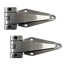 2x Stainless Steel Cold Room Door Hinges Heavy Duty 0mm offset Left/Right