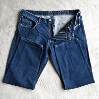 Mens ARMANI JEANS J06 Slim Fit Jeans Tapered Leg Designer Size Waist 34 Leg 25