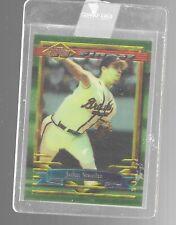 1994 Topps Finest John Smoltz 100 Atlanta Braves Baseball Trading Card