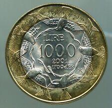 Münzen Varia San Marino 1000 Lire 1997 Km#368 Bimetall In Original Folder Bankfrisch Gn267