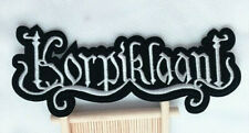 Korpiklaani (band) logo Embroidered Patch Iron-On Sew-On fast US shipping + 1882