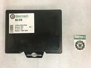 Bearmach Land Rover Freelander 1 (96-06) Set of 5 Locking Wheel Nuts (OEM)