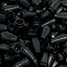 New - Lego 100 Black Cone 1x1 - 4589 (4589b) - City Space etc