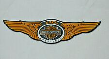 HARLEY DAVIDSON Eagle Decal Tank Emblem Badge Sticker 110th Anniv 4.5x1.3 inch