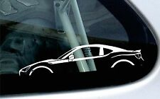 2x car silhouette stickers - For Toyota GT86