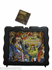 """PRTE-9825 Pirates of the Caribbean Plastic Lunch Box 7.5"""" x 9"""""""