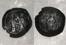 Latin Rulers of Constantinople 1204-1261AD Byzantine Coin Virgin Christ cross