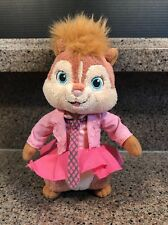 "Ty Beanie Babies Baby - BRITTANY Alvin and the Chipmunks 7"" Plush 2010"