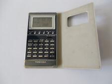 TOSHIBA LC-840WA RARE Vintage Calculator ALARM Watch JAPAN COLLECTABLE Blue