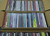 WHOLESALE LOT 30 Music Random CD's Country Classic Rock Pop Rap Various Artists