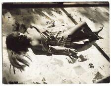 Photo Robert Levy - Aline Ricciamilli - Tirage argentique 1967 -