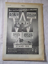 WILLERBY CARAVANS 1954 AD POSTER ADVERT READY FRAME A4 SIZE