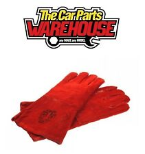"""MAYPOLE FULLY LINED LEATHER WELDING GLOVES WITH 4"""" CUFF MP156"""