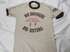 Vintage Big Brothers Big Sisters Twilight River Ramble Run Ringer Shirt Large