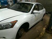 08 09 10 11 12 Honda Accord Fuel Filler Door Flap White 63910-TA0-A00ZZ