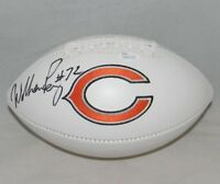 WILLIAM REFRIGERATOR PERRY AUTOGRAPHED SIGNED CHICAGO BEARS LOGO FOOTBALL JSA
