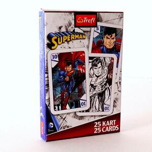 Superman - Black Peter, Playing Cards. Supermen Karty do Gry dla Dzieci.