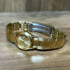 Ladies 1964 Rolex TUDOR Princess Oyster Date (7976) Gold Automatic 2447 Watch