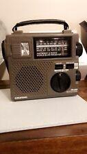Fr200 Emergency Crank Radio Am/fm Eton Grundig For Preppers And Prepping. New