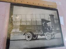 "1915 COOLBAUGH Lumber Truck 7""x9"" ORIGINAL photograph Philadelphia Pennsylvania"
